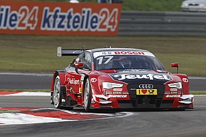DTM Qualifying report Nurburgring DTM: Molina takes Sunday pole for Audi