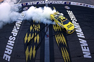 NASCAR Sprint Cup Race report Kenseth wins as Harvick runs out of fuel at New Hampshire