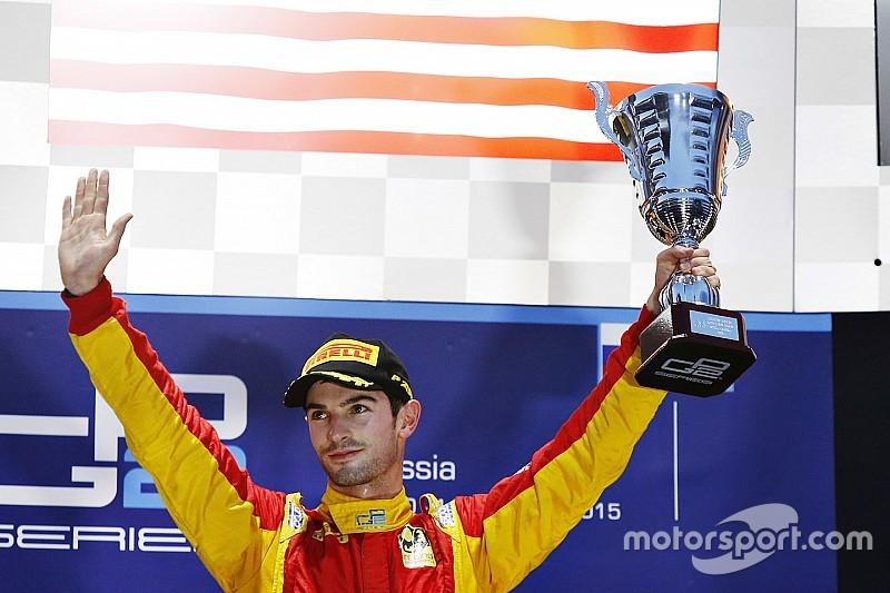 Sochi GP2: Rossi wins shortened race as Lynn crashes