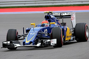 Formula 1 Race report Sauber finished the Russian GP back in the points