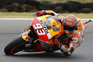 MotoGP Practice report Marquez fastest on day one in Australia