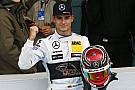 DTM Ekstrom offers DTM champion Wehrlein donut lessons