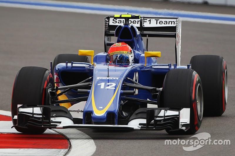 """Após GP da Rússia, Nasr pede volta de F1 """"pé embaixo"""""""