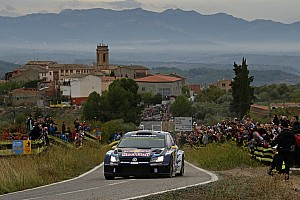 WRC Leg report Spain WRC, Day 3: Mikkelsen takes maiden win as Ogier crashes