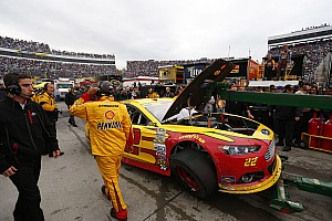 NASCAR Sprint Cup Breaking news Team Penske official considers Logano/Kenseth feud