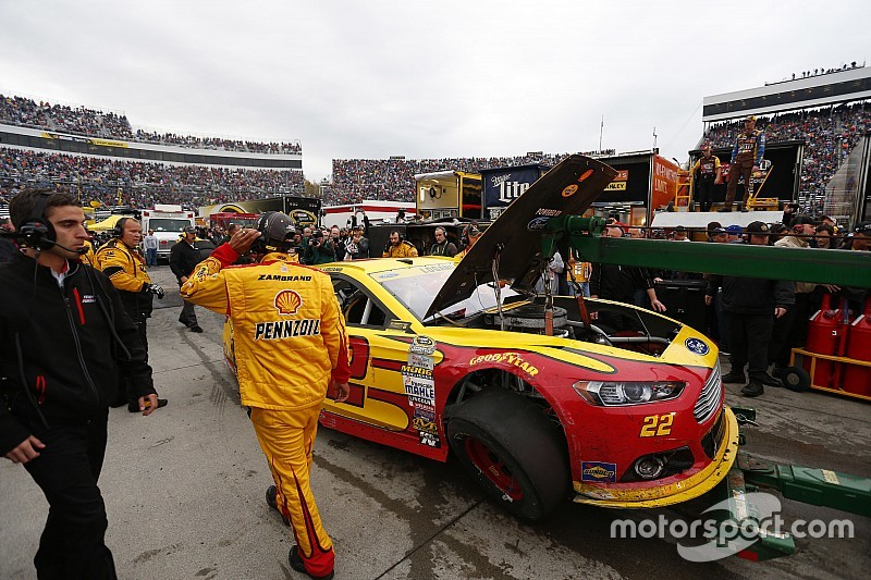 Team Penske official considers Logano/Kenseth feud