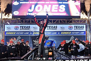 NASCAR Truck Race report Erik Jones extends points lead with Texas win