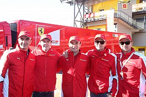 Ferrari Interview Ferrari GT: It's all about the Scuderia for Bruni, Rigon and Bertolini