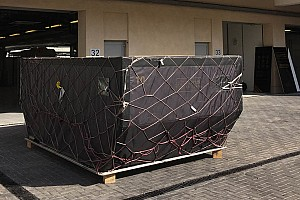 Formula 1 Breaking news Delayed Lotus freight arrives in Abu Dhabi