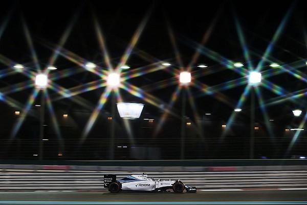 Formula 1 Bottas qualified sixth and Massa eighth for the Abu Dhabi GP
