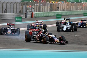 Formula 1 Race report Toro Rosso finish the season with a reliable race at Yas Marina