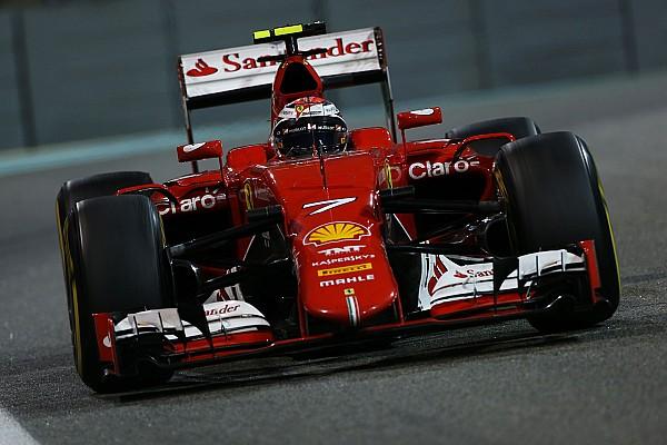 Formula 1 Ferrari: A third place for Kimi Raikkonen at the night race in Abu Dhabi