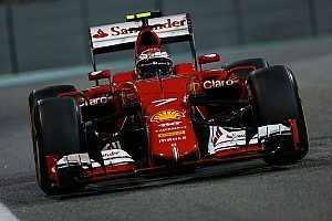 Formula 1 Race report Ferrari: A third place for Kimi Raikkonen at the night race in Abu Dhabi