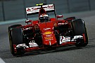 Formula 1 Ferrari: A third place for Kimi Raikkonen at the night race in Abu Dhabi