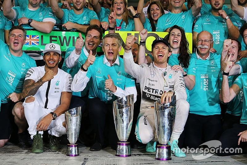 Analyse: Was Mercedes' 2015 meest dominante seizoen ooit?