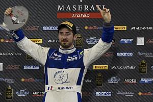 Trofeo Maserati Ultime notizie Monti vince gara 1 ad Abu Dhabi ed è campione