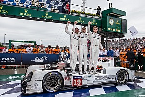 Le Mans Special feature Top Stories of 2015; #8: Porsche wins Le Mans, ending Audi's streak