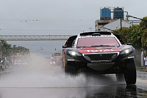 Dakar Breaking news Tuesday's Dakar stage shortened as bad weather persists