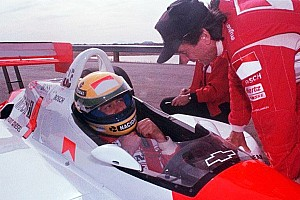 IndyCar Special feature The day Ayrton Senna tested a Penske Indy car