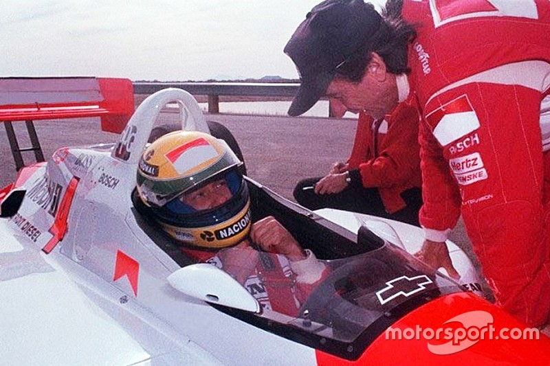 The day Ayrton Senna tested a Penske Indy car