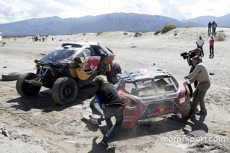 Dakar Cars, Stage 8: Al-Attiyah ends Peugeot's victory run as Loeb rolls