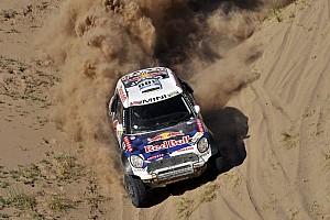 Dakar Prüfungsbericht Rallye Dakar: Nasser Al-Attiyah gewinnt 11. Etappe für Mini