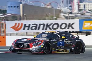 Endurance Breaking news Both Black Falcon Mercedes entries fall out of Dubai 24