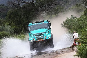 Dakar Stage report Dakar Trucks, Stage 13: De Rooy crowned champion, Stacey quickest
