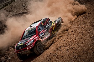 Dakar Breaking news Toyota