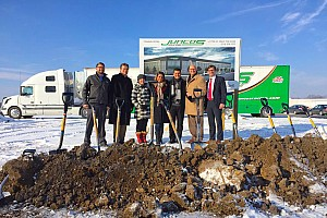 Indy Lights Breaking news Juncos breaks ground on new headquarters