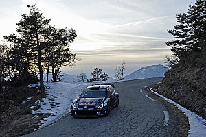 WRC Breaking news Latvala collides with photographer in Rally Monte Carlo crash