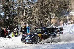 WRC Leg report Monte Carlo WRC: Ogier's lead grows as Meeke and Latvala retire