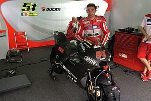 MotoGP Breaking news Ducati shakes down 2016 bike at Sepang