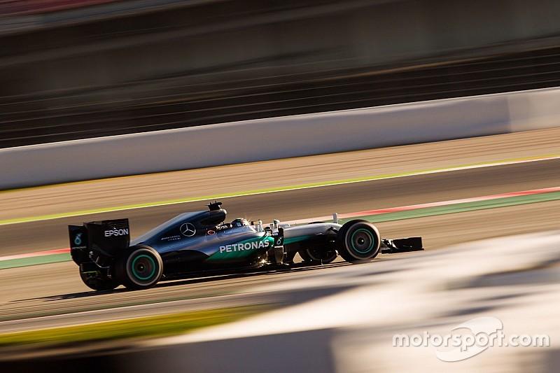 F1巴塞罗那 2: 罗斯伯格最快,法拉利问题不断