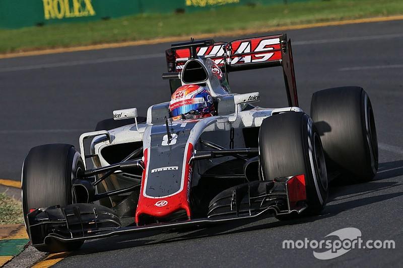 """格罗斯让赢得澳大利亚大奖赛""""当日最佳车手"""""""