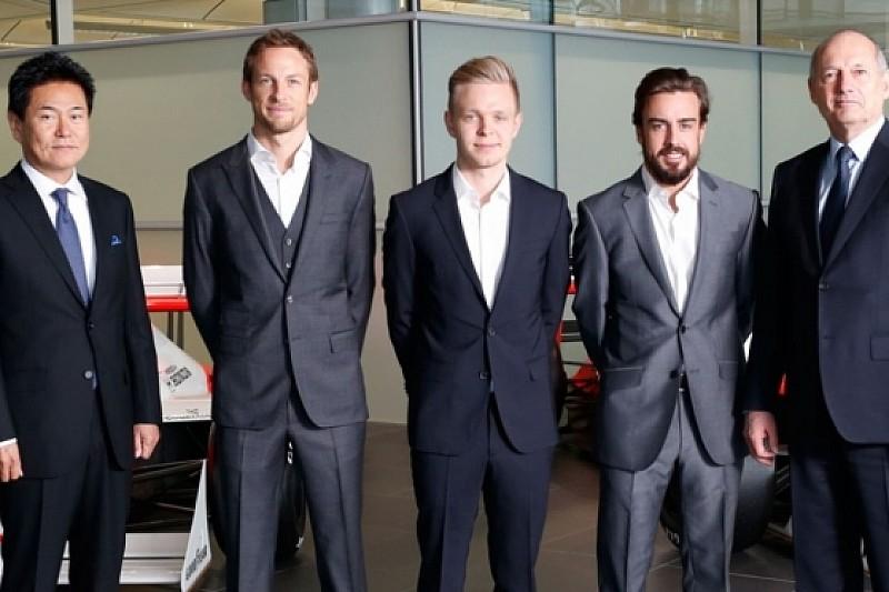 Алонсо и Баттон - гонщики McLaren