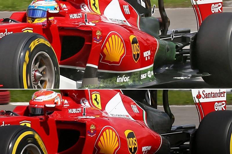 Об обновлениях кузова Ferrari