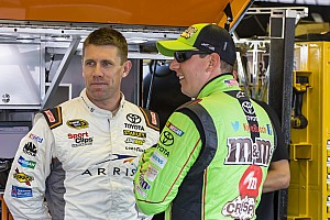 NASCAR Sprint Cup Breaking news Teammates Kyle Busch and Carl Edwards finally discuss Richmond clash