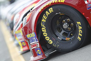 NASCAR Sprint Cup Interview NASCAR's low downforce package proves quite a test for Goodyear