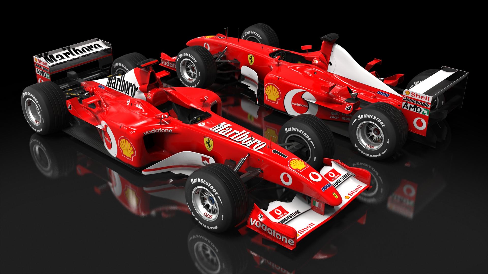 KeepFightingMichael: Ferrari F2002 az Assetto Corsa szimulátoros játékban