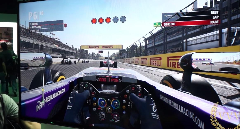 F1 2015: Gameplay videó a Mexikói Nagydíjról! Red Bull, Ricciardo