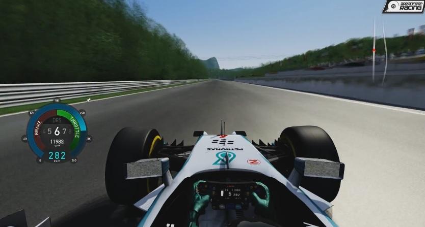 F1 2014 (AC): Csapatás a Mercedesszel a Salzburgringen