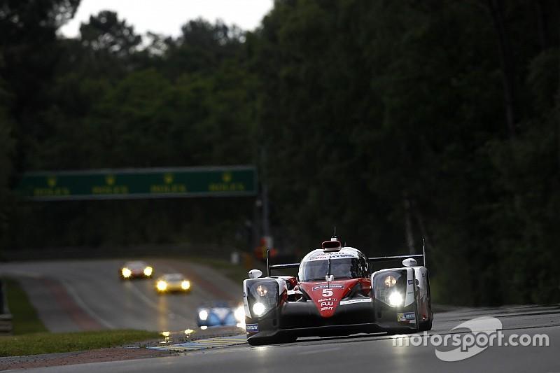 トヨタのル・マン24時間:予選2日目は雨で全車タイムアップならず、3&4番グリッド獲得