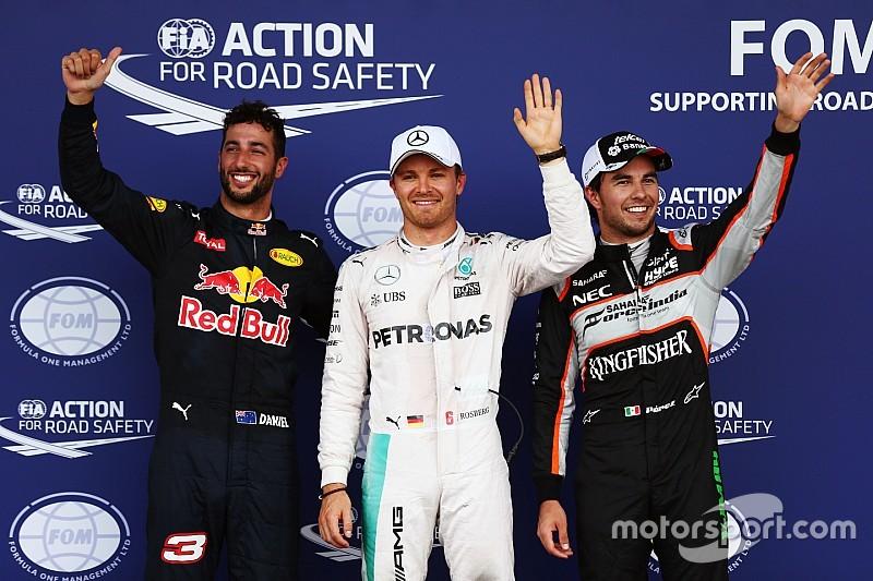 Formel 1 in Baku: 25. Pole-Position von Nico Rosberg nach Unfall von Hamilton