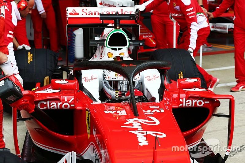 """フェラーリ、""""ハロ2""""をシルバーストンで実走テスト"""