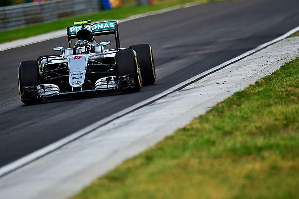 Formula 1 Antrenman raporu Macaristan GP: 3. antrenmanda Rosberg, Verstappen'in 0.002 sn önünde lider