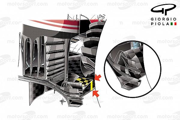Formula 1 Analisi Analisi tecnica: il doppio fondo nel diffusore della Ferrari in Ungheria
