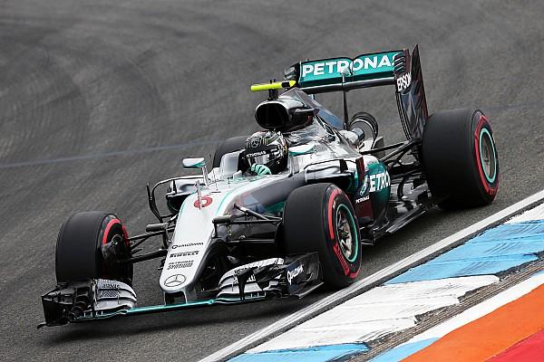 Формула 1 Репортаж з практики Гран Прі Німеччини: друга практика