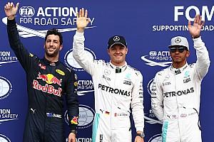 Rosberg verovert pole voor thuisrace, vierde startplek voor Verstappen