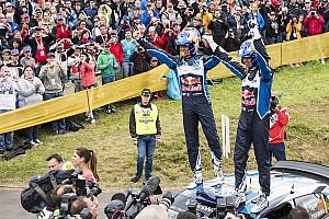 WRC ステージレポート オジェ「長い道のりだった」チームの母国で7戦ぶりの優勝